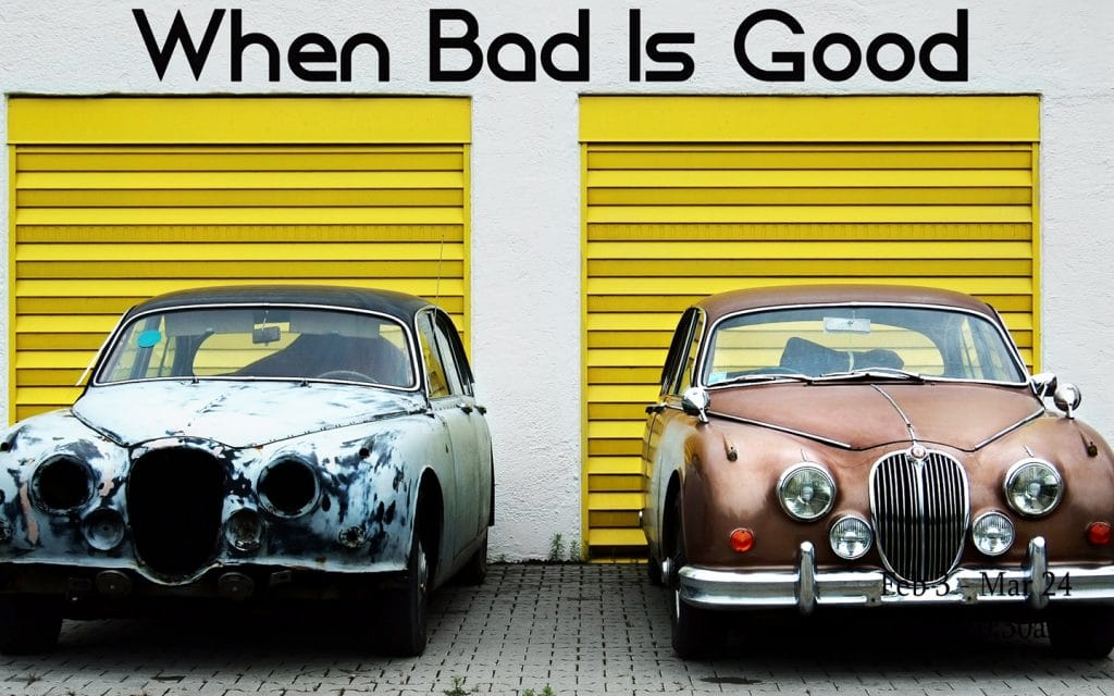 When Bad Is Good - series title image
